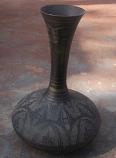Copper Flower vase