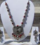 Tribal kuchi necklace 84
