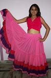 25-Yard multi-color Cotton Gypsy skirt