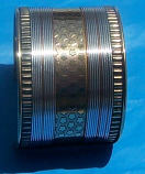 Tribal brass cuff 8