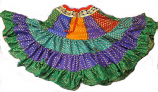 20-yard chanderi gypsy skirt
