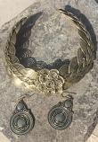 Tribal kuchi necklace 44