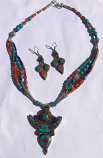 Tribal kuchi necklace 13