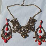 Tribal kuchi necklace 7