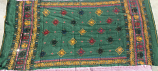 banjara tribal veil green