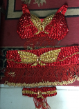Belly dance costume 54