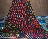 Sari with blouse and petticoat 35