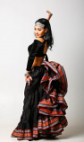 Belly dance padma gypsy skirt 20