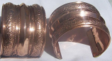 Tribal kuchi copper cuff 2