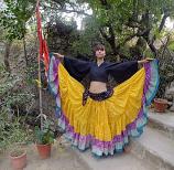 Yellow Maharani skirt 11
