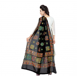 banjara tribal veil blacks