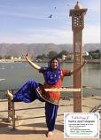 Bollywood dance costume 110