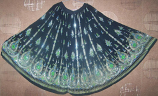 5 yard circle skirt black