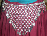 Tribal  waist hips belt-8