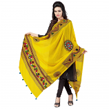 banjara tribal veil yellow