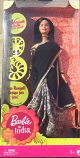 Barbie in Black sari