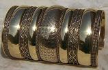 Tribal kuchi cuff 35