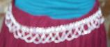 Tribal  waist hips belt-10
