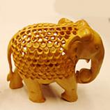 Wooden Elephant 1