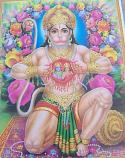 Hanuman print 1