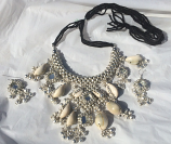 Tribal kuchi necklace 17