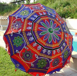 Indian Garden Umbrella