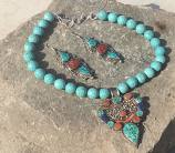 Tribal kuchi necklace 11