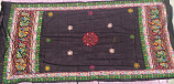 banjara tribal veil black