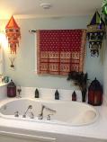 Sari window curtain