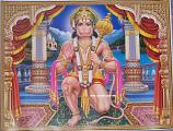 Hanuman print 3