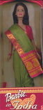 Barbie in Green Sari