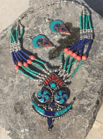 Tribal indian necklace 41