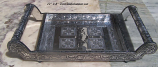 Silver tone  Serving Tray