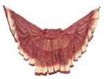 Dark Red Maharani skirt 4