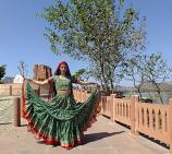 Green Maharani skirt 9