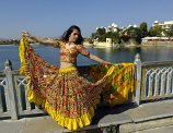Banjara skirt 3 Yellow