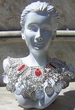 Tribal kuchi necklace 37