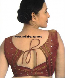 Indian sari blouse 7