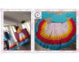 belly dance rainbow costume